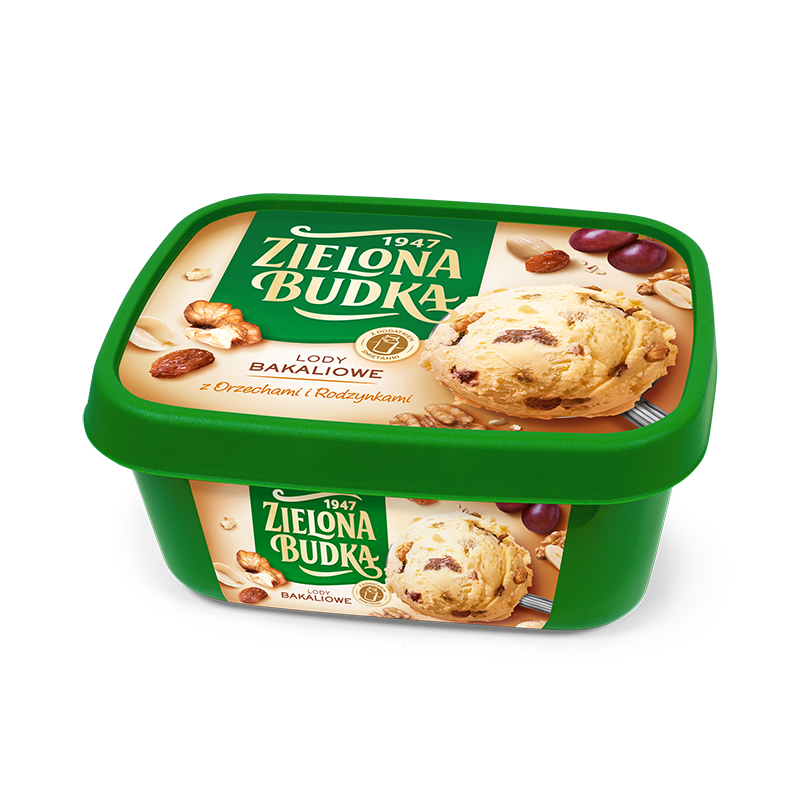 Zielona Budka Dry Fruits with cream